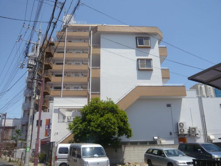 東京都葛飾区 振興ビル マンション外壁塗装工事