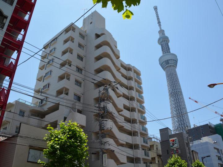 東京都墨田区押上 シャルマン押上 マンション塗装工事