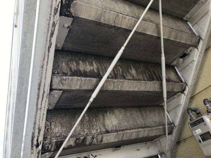 ●塗装工事:階段①
