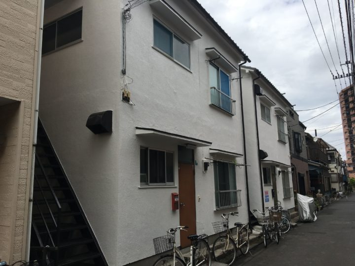 東京都江戸川区 Mコーポ 外壁塗装工事