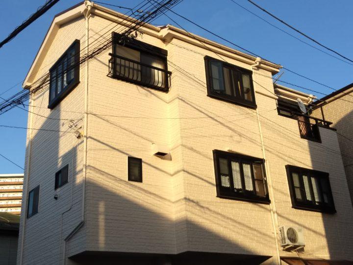 東京都墨田区 K様宅 外壁・屋根塗装工事