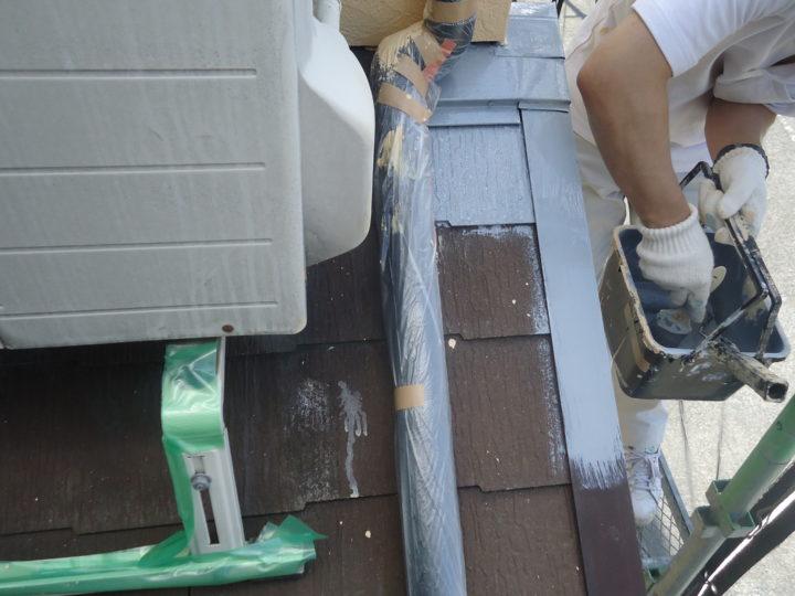 ●塗装工事:屋根①