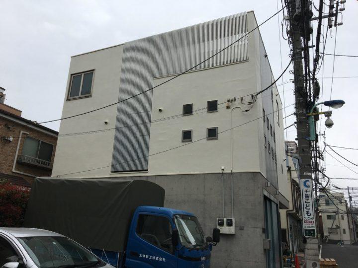 東京都文京区 O様邸 外壁塗装・屋上防水工事