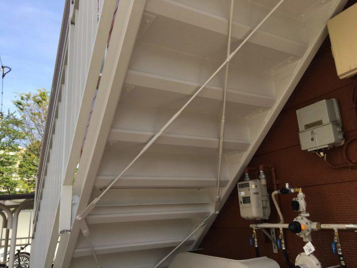 ●塗装工事:階段③