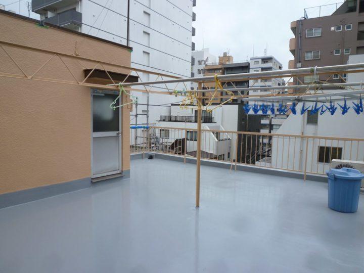 東京都台東区 Kビル 屋上防水工事