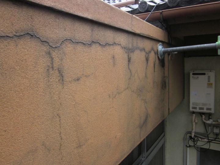 ●下地補修工事:外壁①