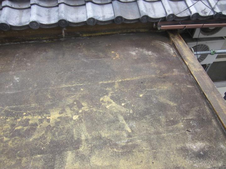 ●下地補修工事:屋上①