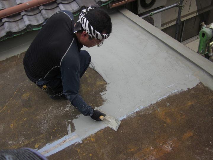 ●防水工事:屋上①