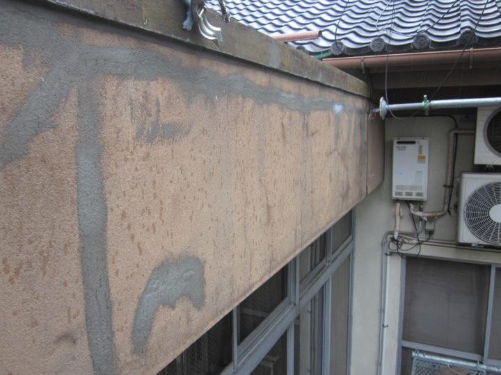 ●下地補修工事:外壁④