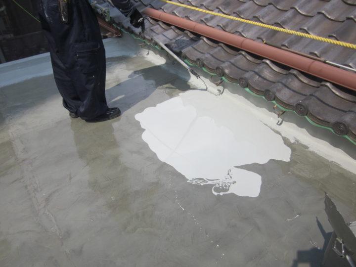 ●防水工事:屋上③