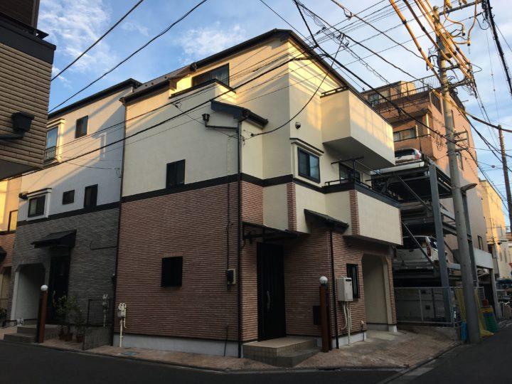 東京都墨田区 S様邸 外壁・屋根塗装修繕工事