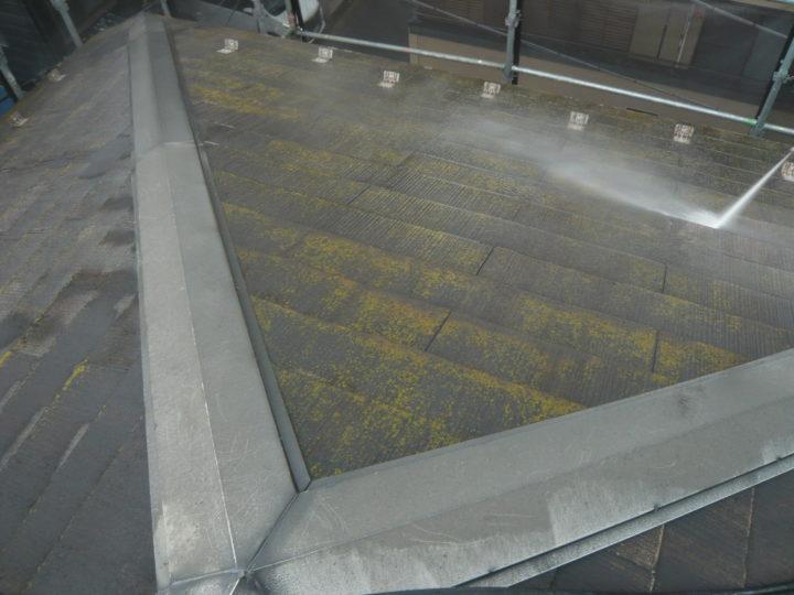 ●洗浄工事:屋根