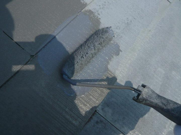 ●塗装工事:屋根②