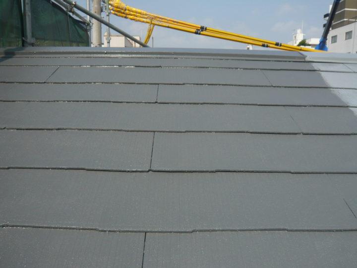 ●塗装工事:屋根③