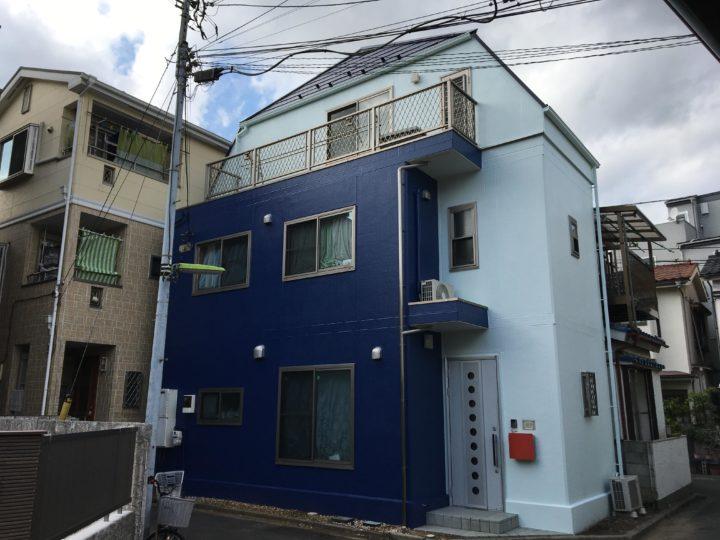 東京都墨田区 K様邸 外壁・屋根塗装工事