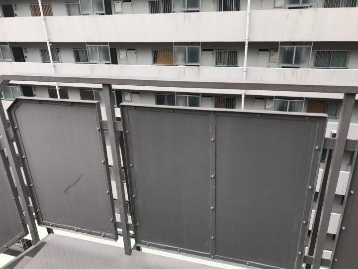 東京都江東区 外階段手摺壁取替工事