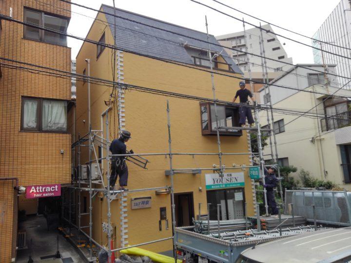 東京都渋谷区 MSビル  塗装・防水工事