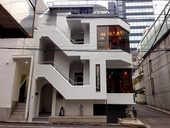 東京都渋谷区 Hビル 外壁塗装・屋上防水工事