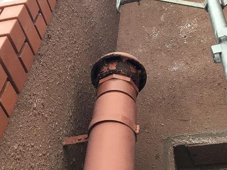 排水管 工事前