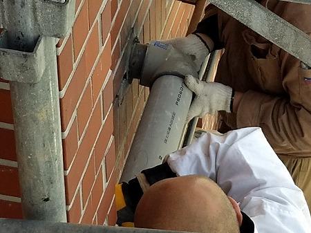 排水管 新規排水管取付