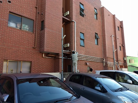 神奈川県平塚市 CR 排水管交換・給水管設置工事