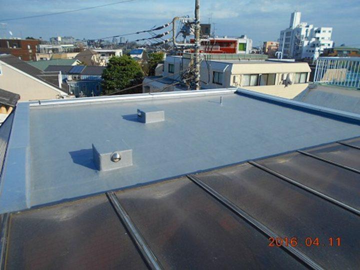 屋上防水 完了