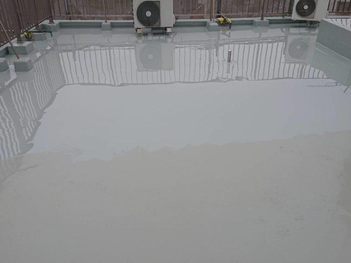 ウレタン防水塗装(上塗り)