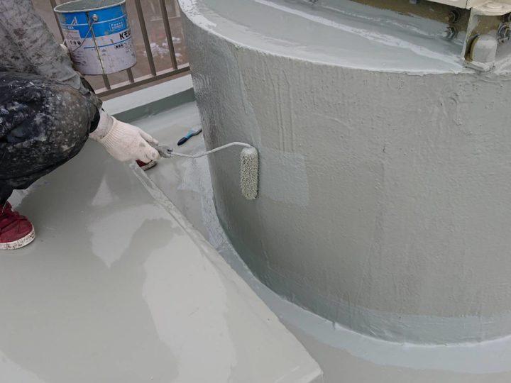 ウレタン防水塗装(中塗り)