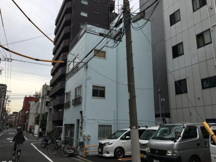 東京都台東区 M様邸 外壁塗装・屋上防水塗装工事