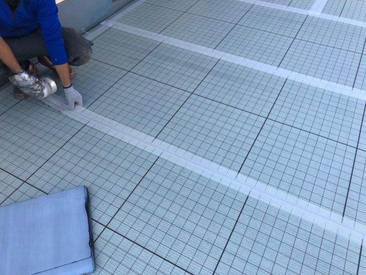 屋上防水塗装工事④