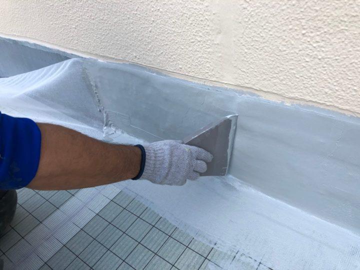 屋上防水塗装工事⑤