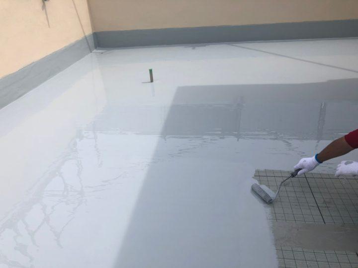 屋上防水塗装工事⑥
