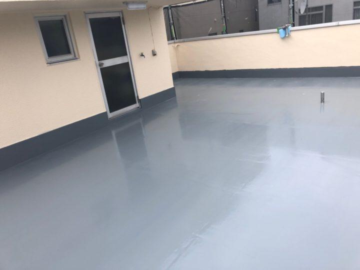 屋上防水塗装工事⑦