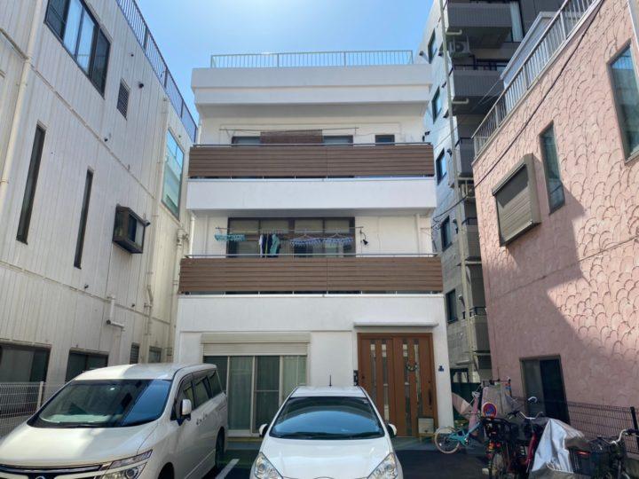 東京都墨田区 T様邸 外壁塗装・屋上防水修繕工事