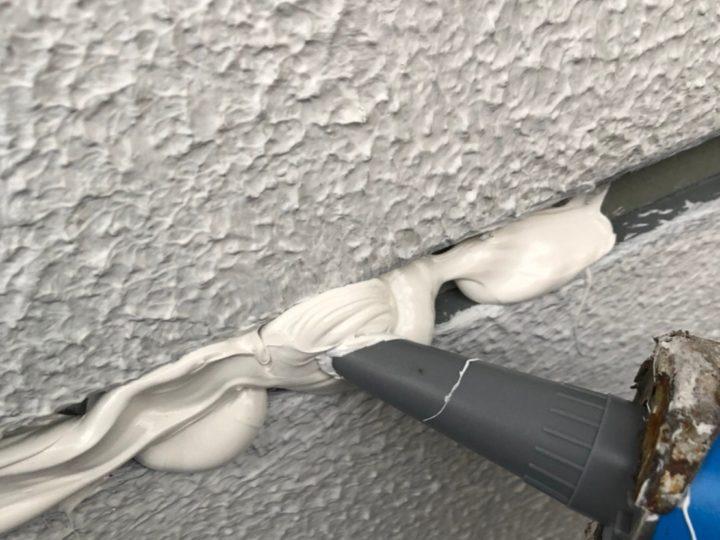 外壁目地シーリング工事 シーリング材充填