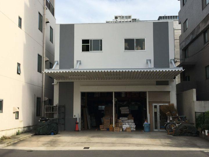 東京都墨田区 Mビル 外壁塗装・屋上防水修繕工事