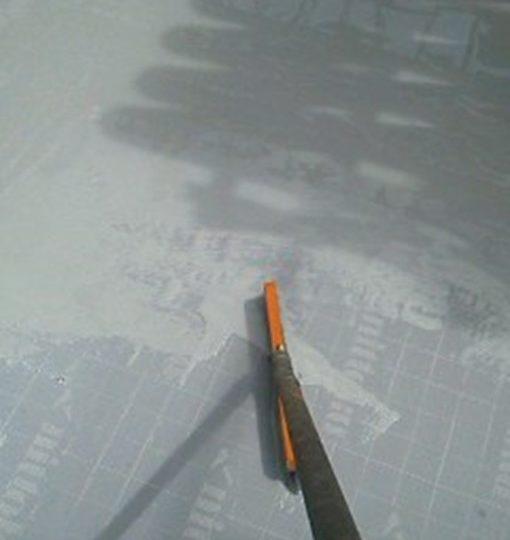 屋上 平場 ウレタン材下塗り