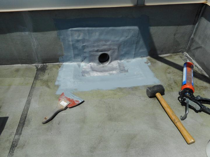 屋上防水 改修ドレン
