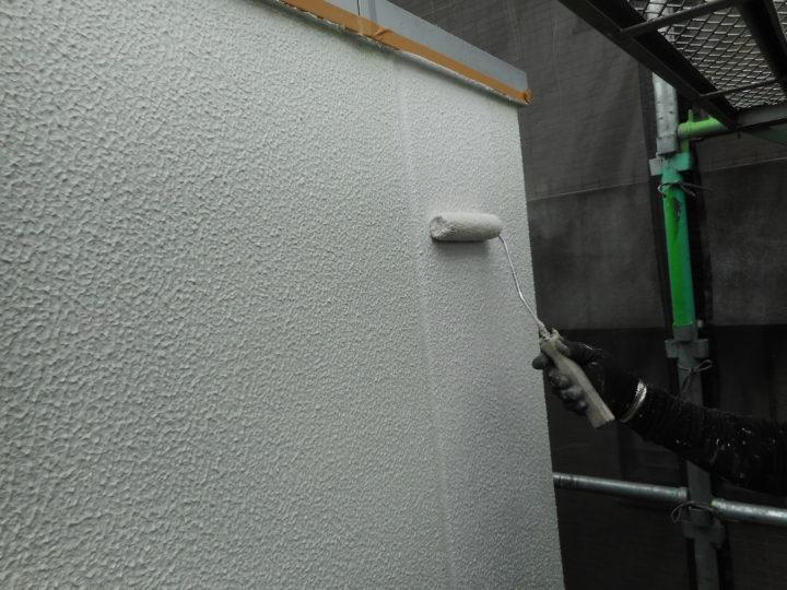 外壁 上塗り①