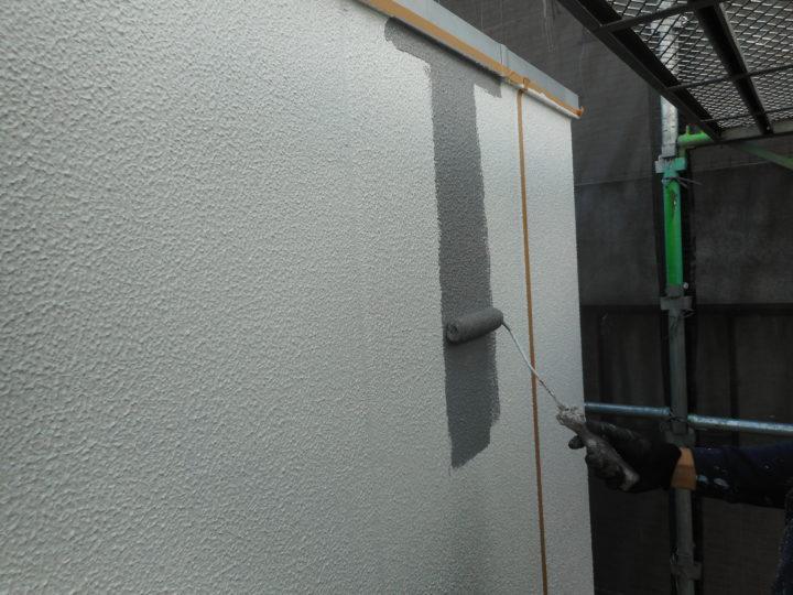 外壁 上塗り③