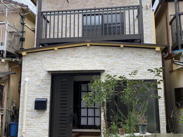 東京都江東区 T様邸 外壁塗装工事