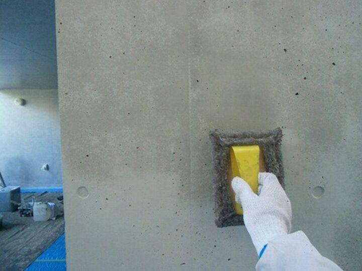 外壁 パターン液塗布