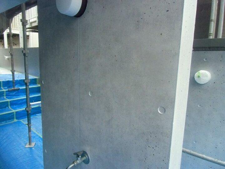 外壁 WS疎水剤塗布後