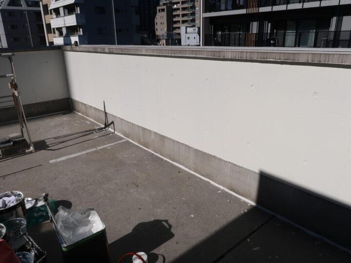 屋上:入隅シーリング材充填