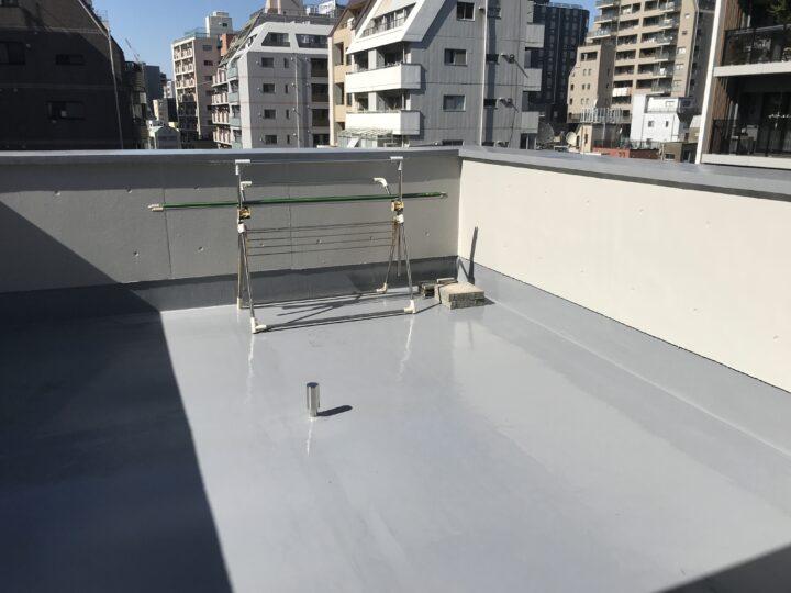 東京都台東区 H様邸 防水工事