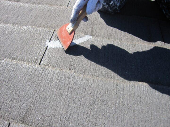 工種:下地補修工事 シーリング材充填