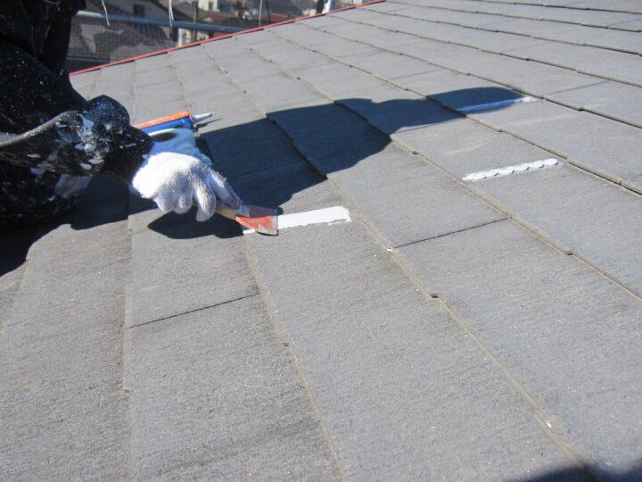 工種:下地補修工事 シーリング材充填押え