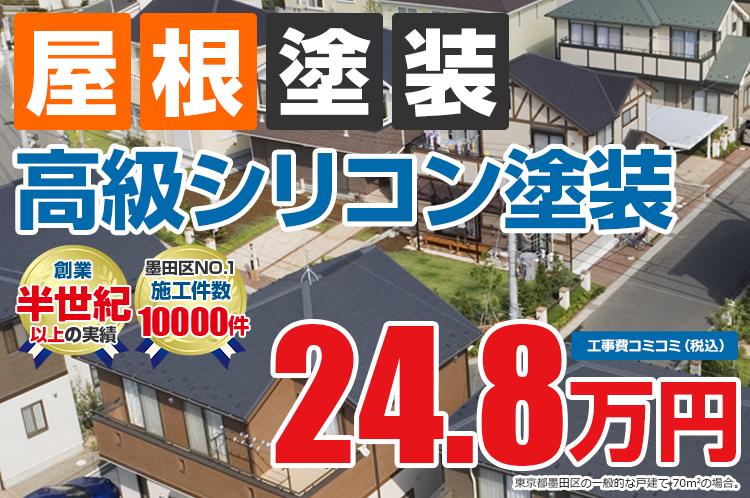 高級シリコンプラン塗装 24.8万円
