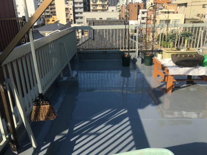 東京都墨田区 Y様邸 屋上・塔屋防水工事