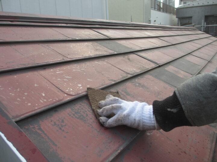 屋根塗装:ケレン